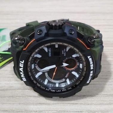1e25662ae29 Relógio Smael Militar Camuflado Prova Dágua Original - Bijouterias ...
