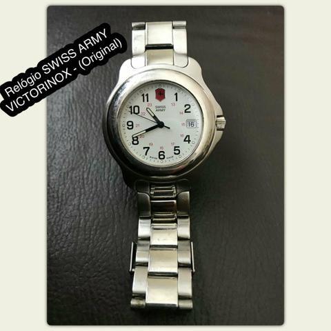 cb4380e5da0 Relógio Swiss Army Suíço Original - Bijouterias