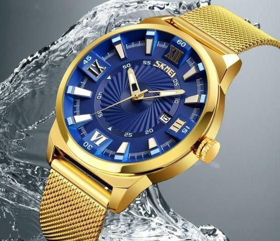 91203865f52 Relógio Masculino Skmei De Pulso Quartz Original - Bijouterias ...