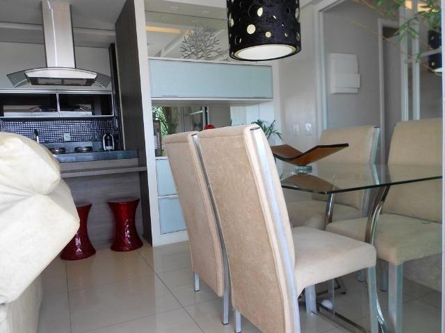 Apartamento no Allegro 14º andar, todo projetado, 3 quartos, 2 vagas - Foto 5