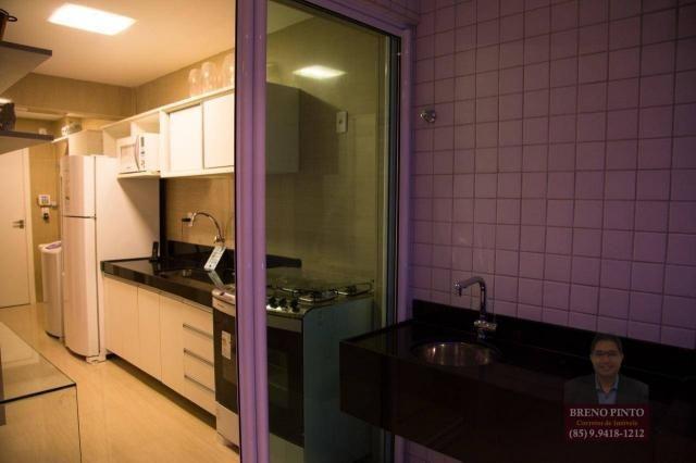 Apartamento com 3 dormitórios à venda, 110 m² por R$ 719.900,00 - Aldeota - Fortaleza/CE - Foto 17