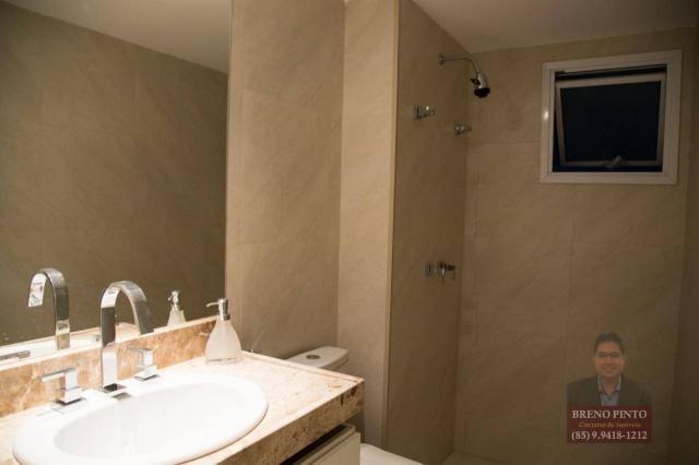 Apartamento com 3 dormitórios à venda, 110 m² por R$ 719.900,00 - Aldeota - Fortaleza/CE - Foto 19