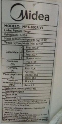 Ar Condicionado Portátil Midea Tango 10500 BTUs Frio - 127 Volts - Foto 5