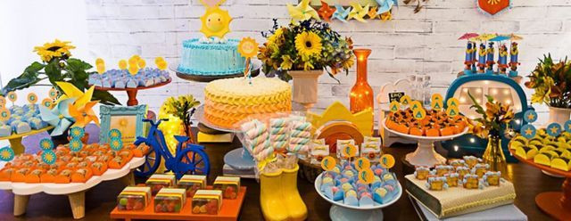Aniversário alugue decoração com a P7 Locações - Foto 4