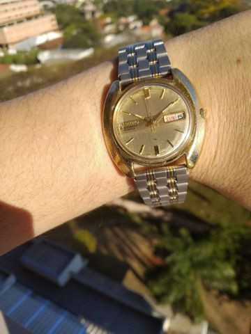 Raríssimo Seiko 19 Jewels * Golden Edition Fab 05/83 - Foto 4