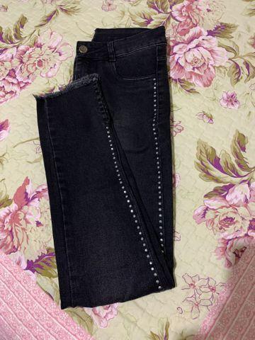 Calça jeans feminina número 38 - Foto 4