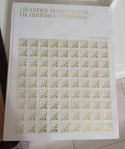 Coleção grandes personagens da história universal - Foto 2