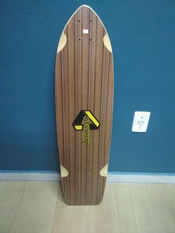 Shape de Skate Longboard (Simulador de Surf) - Foto 2