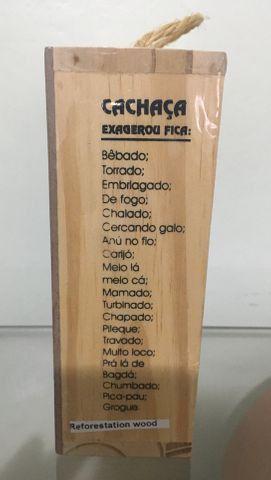 Kit Clube Da Cachaça Decoração E Presente 50ml miniatura - Foto 2