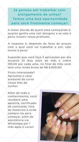 Promoção Curso de alongamento de unhas de fibra de vidro - Foto 2