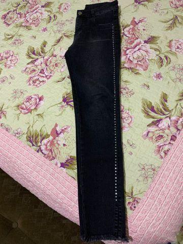 Calça jeans feminina número 38 - Foto 3