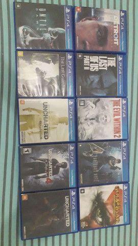 Vendo 10 jogos de PlayStation 4
