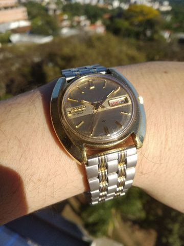 Raríssimo Seiko 19 Jewels * Golden Edition Fab 05/83 - Foto 6
