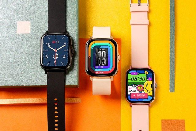 Lançamento 2021 Smartwatch Colmi P8 Plus - 6X sem juros