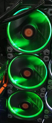 Controladora Fan Thermaltake com 3 Fan 120 mm Rgb - Foto 3