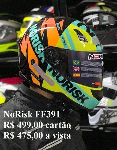Capacetes NoRisk a partir de R$ 425,00 JL Parts