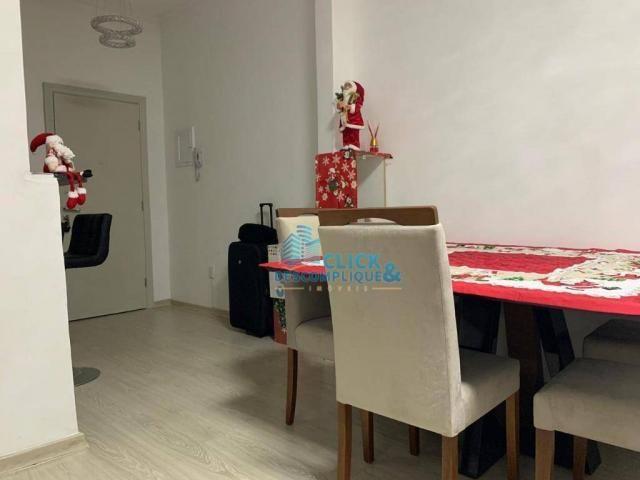 Apartamento com 3 dormitórios à venda, 110 m² por R$ 495.000,00 - José Menino - Santos/SP - Foto 3