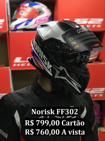 Capacetes NoRisk a partir de R$ 425,00 JL Parts - Foto 5