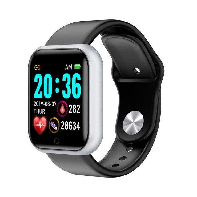 Promoção Dia Dos Pais Lindos Relógios Digitais Smartwatch Coloca Fotos - Foto 3