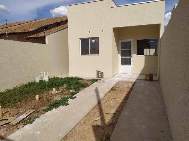 Casa com 2 dormitórios à venda, 55 m² por R$ 160.000 - Jardim Ouro Verde - Várzea Grande/M - Foto 3