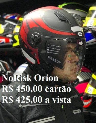 Capacetes NoRisk a partir de R$ 425,00 JL Parts - Foto 2