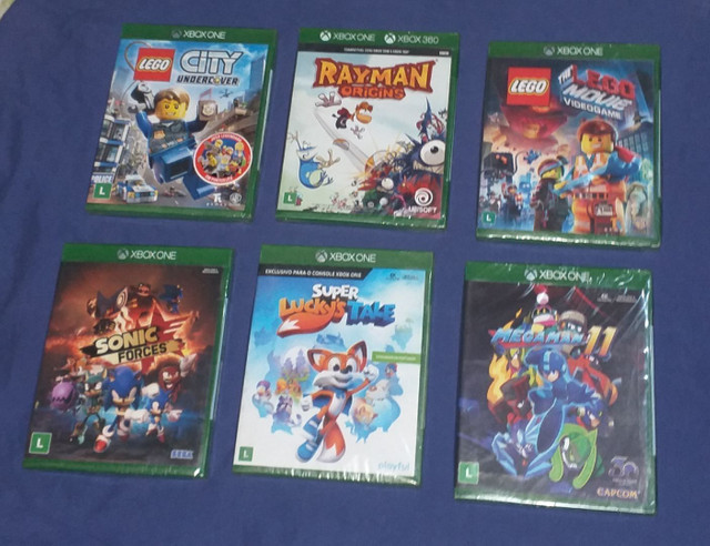Jogos Xbox One lacrado zap * - Foto 3