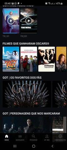 N.E.T.F.L.I.X AMAZOM TELECINE HBO GO E GLOBO PLAY 8 REAIS CADA UMA FAÇO VIA PIX  - Foto 5