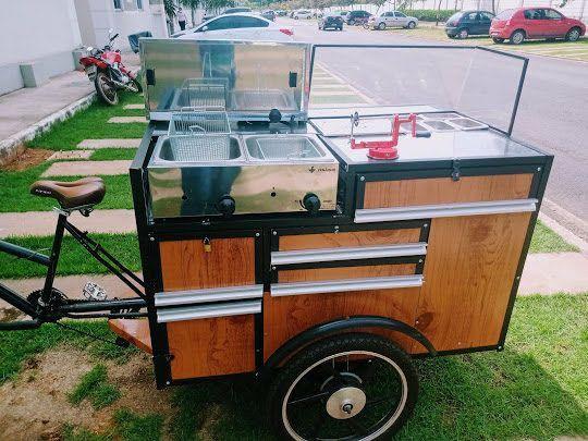 Fast food carrinho de batata frita da pra montar outros tipo de comida tambem aceito troca - Foto 2