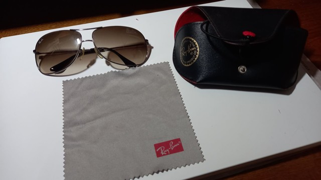 Óculos Ray ban original- desapego - Foto 2