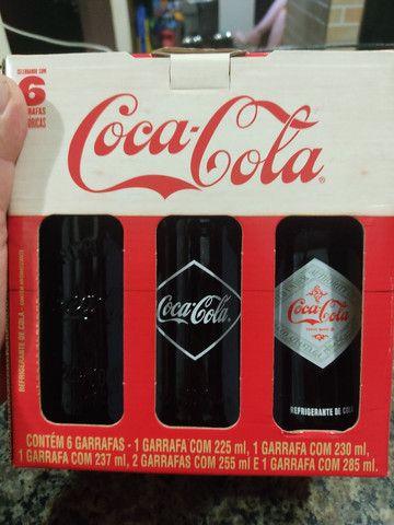 Conjunto de 6 Coca-Cola Retrô 20cm cada