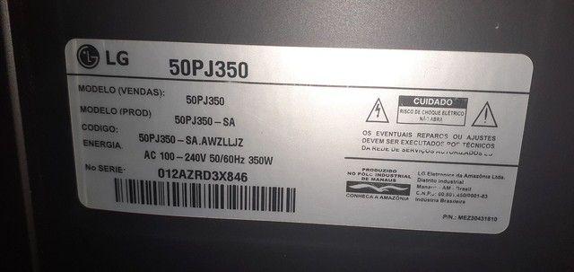 TV DE PLASMA LG- 50 Polegadas  - Foto 2
