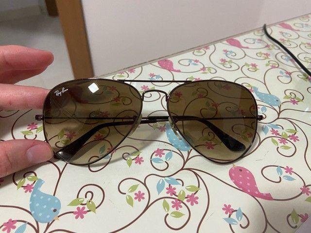Óculos Rayban Aviador Original - Foto 2