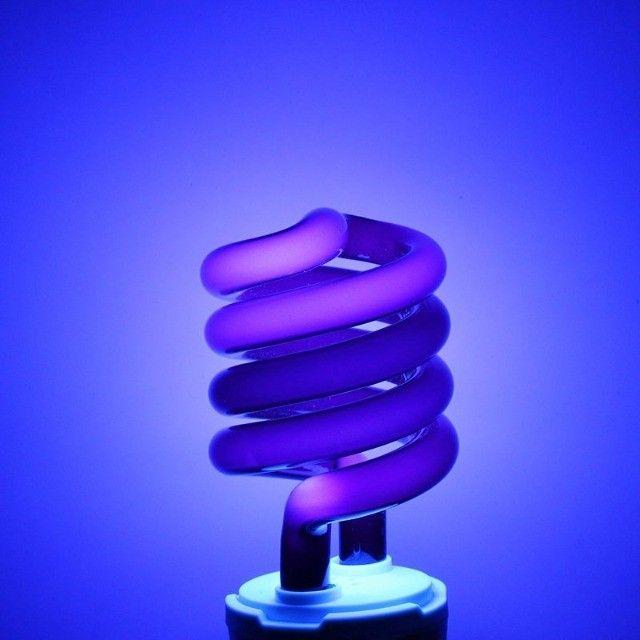 Lâmpada Luz Negra Ultra Violeta 28w 110v Festa Balada DJ