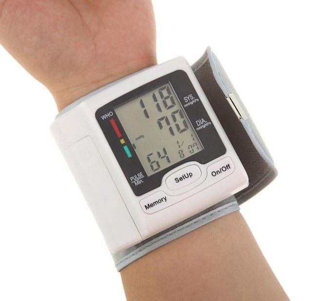 Medidor De Pressão Arterial Digital Com Display Lcd / Pulso / Medidor De - Foto 3