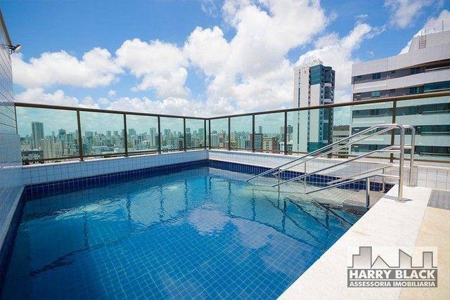Apartamento com 2 dormitórios à venda, 52 m² por R$ 460.000,00 - Aflitos - Recife/PE - Foto 14