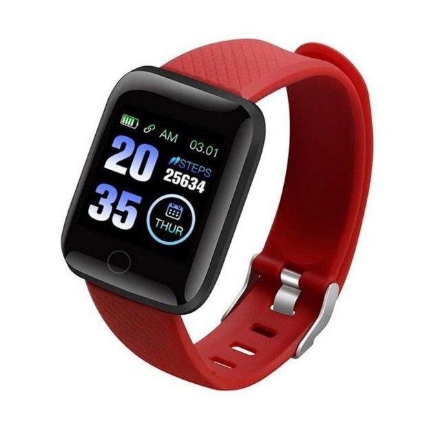 Promoção Dia Dos Pais Lindos Relógios Digitais Smartwatch Coloca Fotos - Foto 5