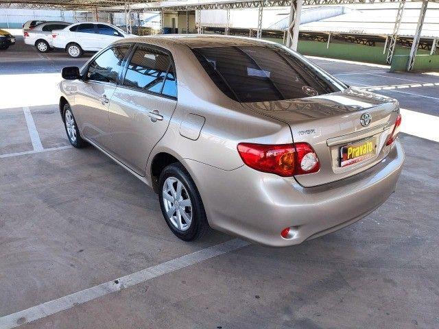 Corola  1.6 Automático  2009  ótima conservação  - Foto 11