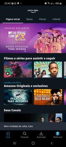N.E.T.F.L.I.X AMAZOM TELECINE HBO GO E GLOBO PLAY 8 REAIS CADA UMA FAÇO VIA PIX  - Foto 2