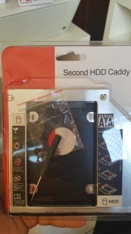 Caddy para Segundo HD 9,5mm - Lacrado - Aceito Cartão