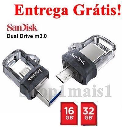 PenDrive SanDisk Ultra Dual Drive USB 3.0 MicroUSB 16GB 32GB
