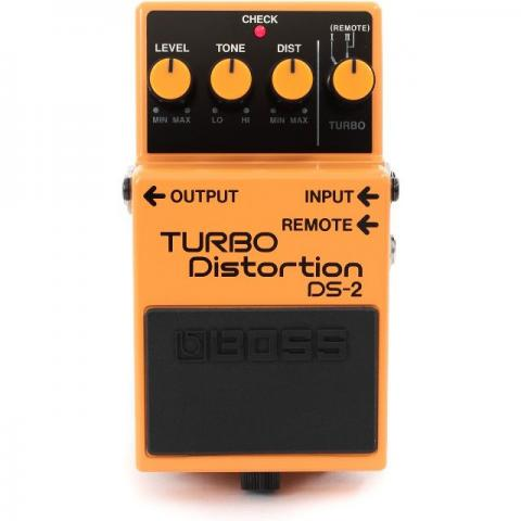 Pedal Boss Ds-2 Turbo Distortion Novo Na Caixa