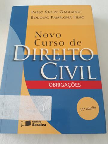 Livro Novo Curso de Direito Civil - Obrigações