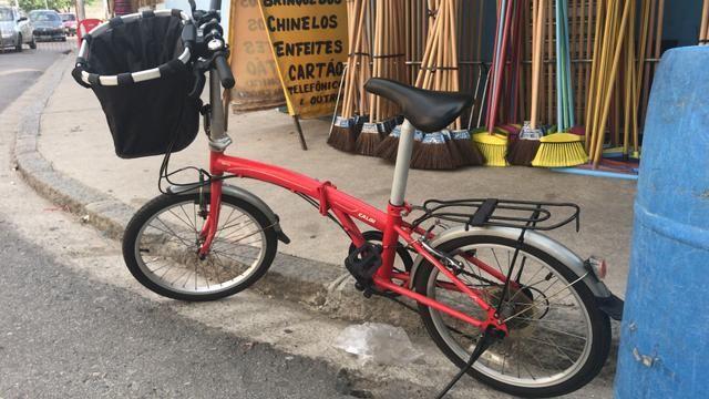 Bicicleta Caloi Dobravel