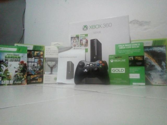 Xbox 360 +60 com nota fiscal