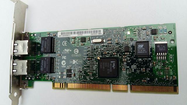 Placa de rede Intel PRO/1000 MT Dual PortServer nova