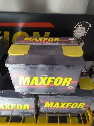 Bateria Automotiva Maxfor Promoção 60AH 1 Ano de Garantia 170 Reais