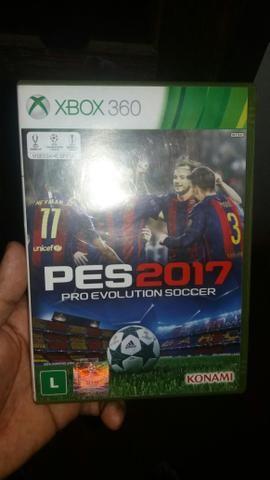 Troco pes 2017 em outros jogos de Xbox 360