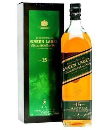 Promoção Whisky Johnnie Walker Green Label 1 L (15anos)