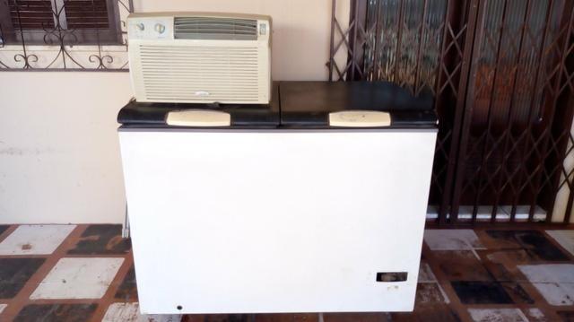 Frizer e ar condicionado