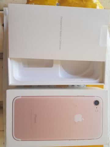 Caixa Iphone 7 Rose Intacta
